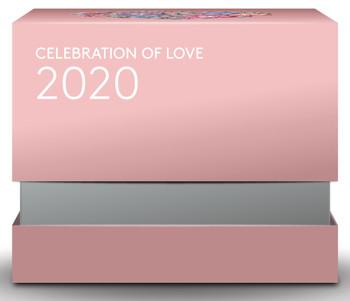2020 $3 FINE SILVER COIN CELEBRATION OF LOVE