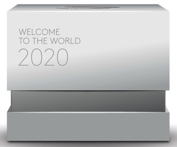 2020 $10 FINE SILVER COIN PREMIUM BABY - WELCOME TO THE WORLD!