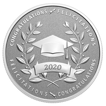 2020 $10 FINE SILVER COIN CONGRATULATIONS ON YOUR GRADUATION!