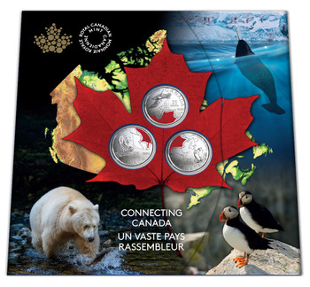 2020 25-CENT COIN SET CONNECTING CANADA