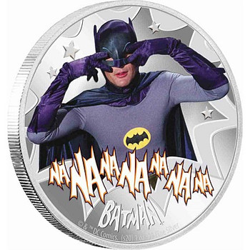 BATMAN™ '66 - BATMAN 1oz Silver Coin
