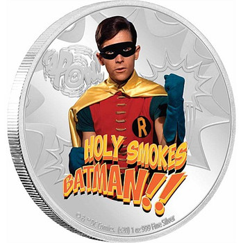 BATMAN™ '66 -  ROBIN™ 1oz Silver Coin