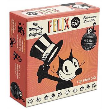Felix The Cat 100th Anniversary - 1oz Silver Coin