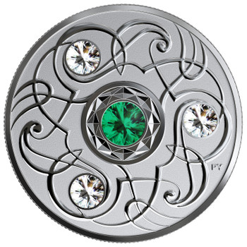 2020 $5 FINE SILVER COIN BIRTHSTONES: MAY