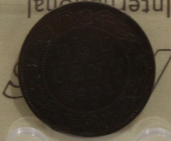 1906 CIRCULATION ONE-CENT COIN - BROWN - MS-60