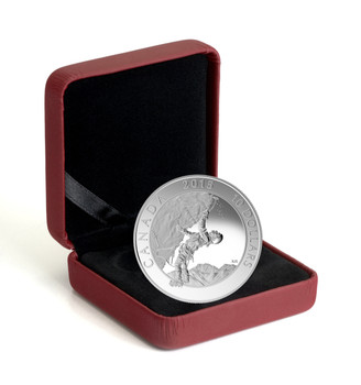 SALE - 2015 $10 FINE SILVER COIN ADVENTURE CANADA: ICE CLIMBING