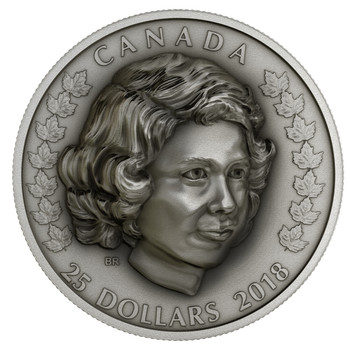 SALE - 2018 $25 FINE SILVER COIN HER MAJESTY QUEEN ELIZABETH II: THE YOUNG PRINCESS
