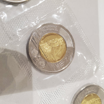 2012 $2 COMMEMORATIVE HMS SHANNON TOONIE (5-PACK)