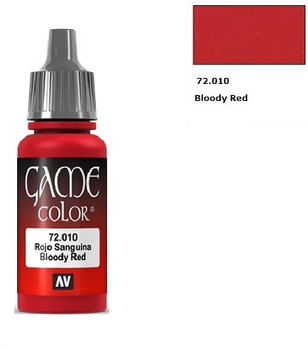 GAME COLOR BLOODY RED (17ML)