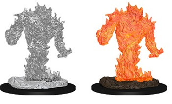 D&D UNPAINTED MINIS FIRE ELEMENTAL