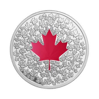 SALE - 2013 $20 FINE SILVER COIN- MAPLE LEAF IMPRESSION