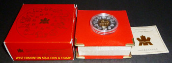 SALE - 1998 $15 LUNAR SILVER & GOLD COIN - YEAR OF THE TIGER