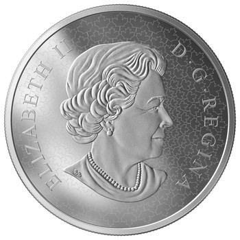 SALE - 2019 $50 FINE SILVER COIN CELEBRATING CANADA'S ICONS