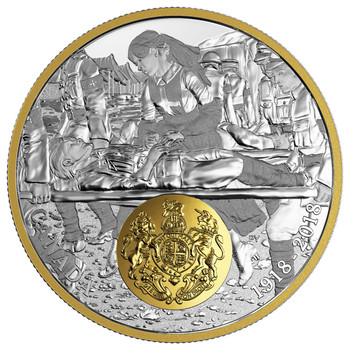 SALE - 2018 $20 FINE SILVER COIN -FIRST WORLD WAR ALLIED FORCES: GREAT BRITAIN