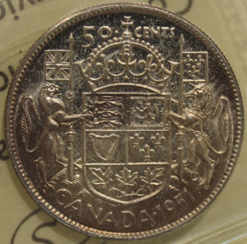 1951 CIRCULATION 50-CENT COIN - MS64