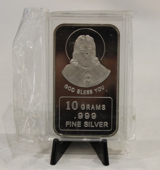 10 GRAM SILVER BAR - GOD BLESS YOU