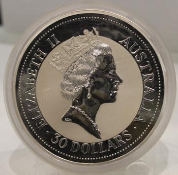 澳大利亚KOOKABURRA KILO银币
