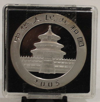 2005 CHINESE PANDA 1oz. SILVER COIN