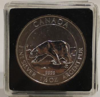 2013 POLAR BEAR 1.5oz SILVER COIN