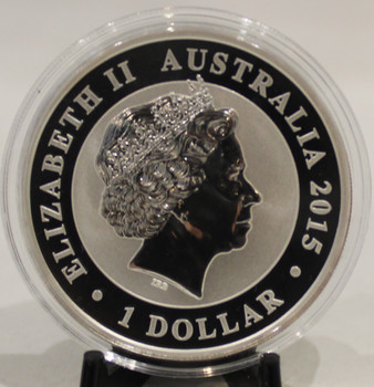 2015 AUSTRALIA KOOKABURRA 1oz. SILVER COIN