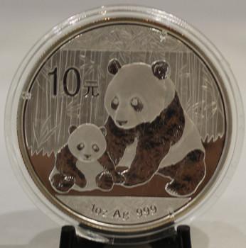 2012 CHINESE PANDA 1oz. SILVER COIN