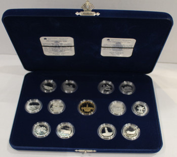 SALE - 1992 SPECIAL EDITION PROOF STERLING SILVER SET - 125TH ANNIVERSARY