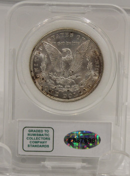 1885 MORGAN SILVER DOLLAR MS-67