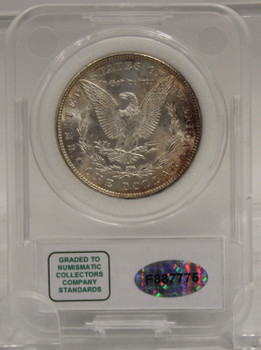 1886 MORGAN SILVER DOLLAR NCC MS-67