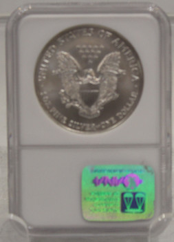 2002 1oz. SILVER EAGLE - NGC MS-69