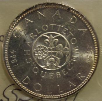1964 CIRCULATION $1 COIN - MS64