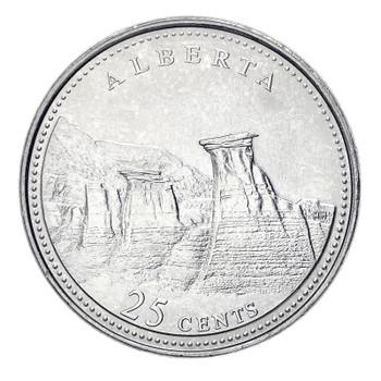 1992 ALBERTA 25-CENT ROLL