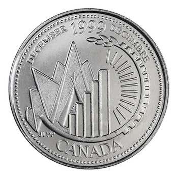 1999 DECEMBER 25-CENT ROLL - THIS IS CANADA