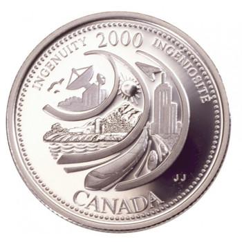 2000 INGENUITY 25-CENT ROLL