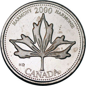 2000 HARMONY 25-CENT ROLL