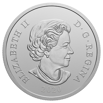 2020 $20 FINE SILVER COIN HER MAJESTY QUEEN ELIZABETH II'S BRAZILIAN AQUAMARINE TIARA