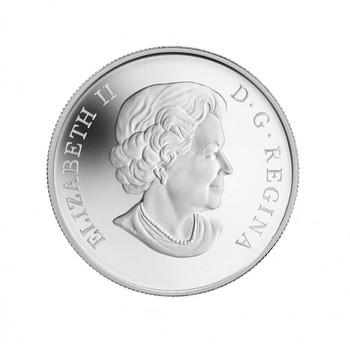 2013 $10 FINE SILVER COIN DUCKS OF CANADA - WOOD DUCK