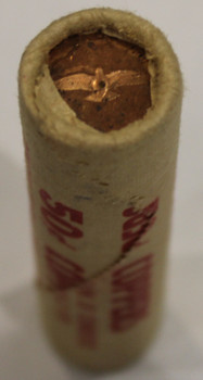1967 CONFEDERATION 1-CENT ROLL (BROWN ROLL)