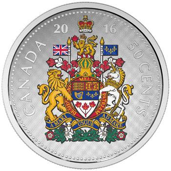 2016 50-CENT FINE SILVER BIG COIN - HALF DOLLAR - NO CARDBOARD BOX