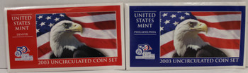 2003 UNITED STATES MINT P & D UNCIRCULATED COIN SETS