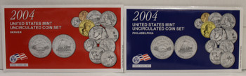 2004 UNITED STATES MINT P & D UNCIRCULATED COIN SETS