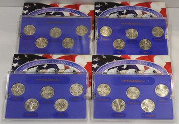 1999-2002 PHILADELPHIA  MINT EDITION STATE QUARTER COLLECTIONS