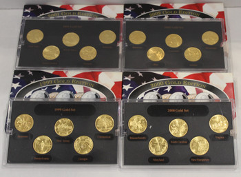 1999-2002 GOLD EDITION STATE QUARTER COLLECTIONS