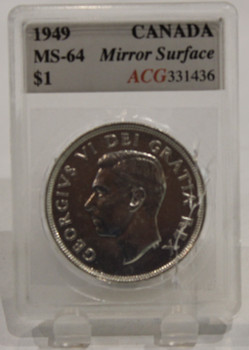 1949 CIRCULATION 1-DOLLAR COIN - MS-64