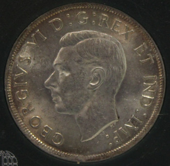 1937 CIRCULATION 1-DOLLAR COIN - CHOICE BU