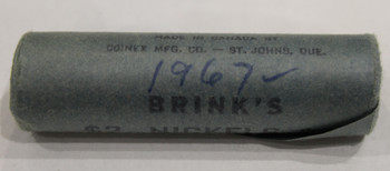 1967 5-CENT ROLL (BLUE)