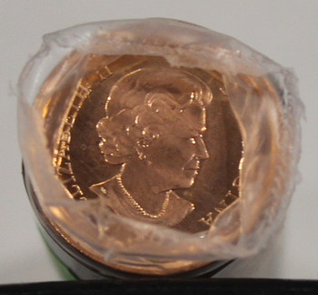 2012 NON MAGNETIC 1-CENT ROLL