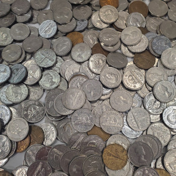369 ASSORTED 5-CENT NICKELS