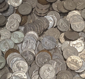 224 ASSORTED 5-CENT NICKELS