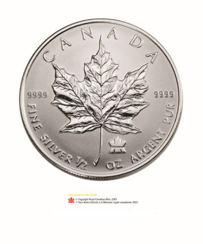 2004 FINE SILVER FRACTIONAL SET - MAPLE LEAF PRIVY MARK (AS PICTURED)