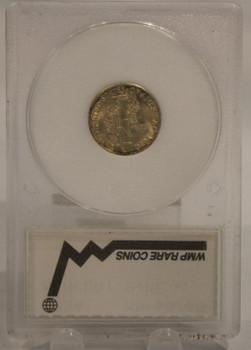 1934 MERCURY DIME 10-CENT MS-65
